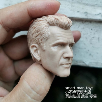 1/6 Danny Glover Male Head Извайвам Carving Model Toy Lethal Weapon for 12