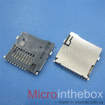 1000шт/макара TF card connector четец Push and lock Type SMD Micro SD Card Socket mobile pad Memory Card story teller