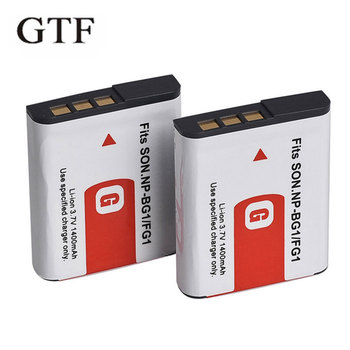 1pc NP-BG1 Camera Battery For Sony 1400mAh 3.7 v NP BG1 Digital Camera Battery For SONY Cyber-Shot DSC-H3 DSC-H7 DSC-H9 DSC-H10