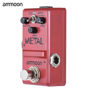 Ammoon Серията Guitar Effect Pedal Distortion/ Delay/ Chorus Effects Guitar Pedal True Bypass Китара аксесоари
