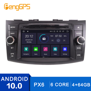 Android, 10.0 сензорен екран за Suzuki Swift 2011-2016 CD DVD плейър GPS навигация мултимедийно главното устройство FM радио Carplay DSP 6 Основната