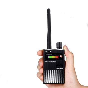 G318 Wireless RF Signal Детектор Finder Anti-GPS Локатор Cell Phone Camera Finder Full Range Грешки Detector