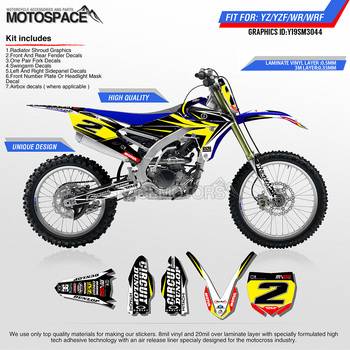 Motospace Customized Motorcycle Graphics DECALS стикери за YAMAHA-2018 YZ250F-2018 YZ250FX WRF250-2017 YZ450F