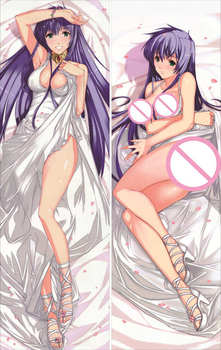 Saint Seiya: The Lost Canvas The Мит of Hades аниме секси момиче Athena rustam хвърли pillow cover body Pillowcase