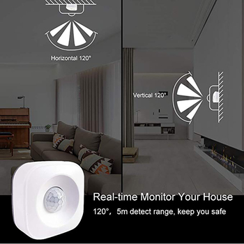 Smart ZigBee PIR Motion Sensor Support Sasha Smart Life APP IFTTT за Amazon Echo 2Nd Plus работа с платформата на Hristo Платформа Hub