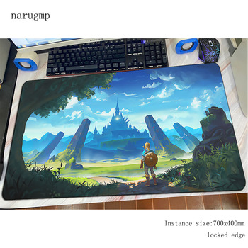 Zelda mouse pad large gaming мишка аниме 800x400x4mm office notbook desk mat HD print padmouse games pc gamer mats